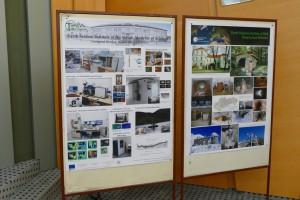 Postery o činnosti laboratórií a detašovaných pracovísk ÚVZ SAV.