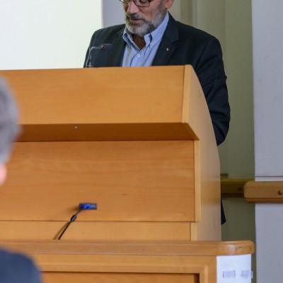 Podpredseda 1. oddelenia SAV Pavol Siman