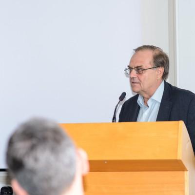Vedúci Geofyzikálneho odboru ÚVZ SAV Ladislav Brimich