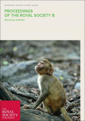 New publication – Proceedings of the Royal Society B (IF 5.051)