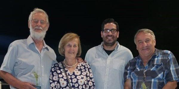 Sprava: Jiří Šebesta, Ing. Alex Chávez – vedúci odd. životného prostredia OPAMSS, Jaroslav Lexa s manželkou.