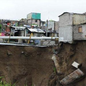 Ohrozenie obydlí eróziou