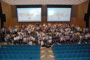 """Tretí medzinárodný stratigrafický kongres """"STRATI 2019"""" sa konal na Univerzite degli Studi v Miláne"""
