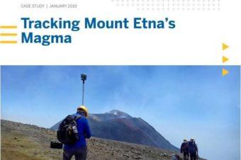 Štúdia o práci slovenských geofyzikov a geodetov na Etne