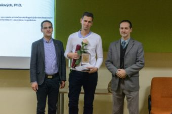 Cena dr. Ludmily Sedlárovej-Rabanovej za rok 2019 pre Adama Tomašových