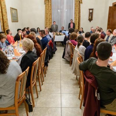 Večera a neformálne stretnutia pracovníkov ÚVZ SAV