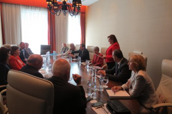 Meeting of Director-General of UNESCO Irina Bokova with the Slovak Commission for UNESCO in Bratislava