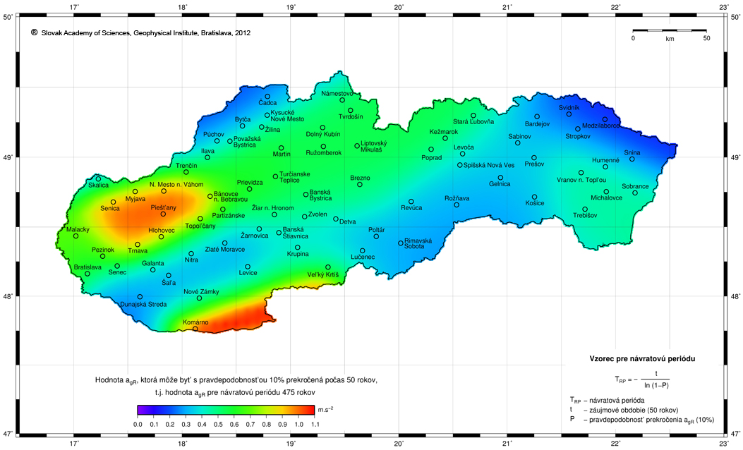 National Network of Seismic Stations – Earth Science